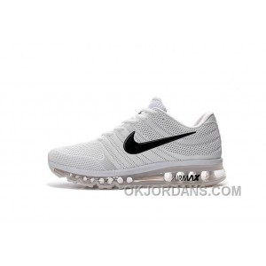 Authentic Nike Air Max 2017 KPU White Black Discount MiNFfw