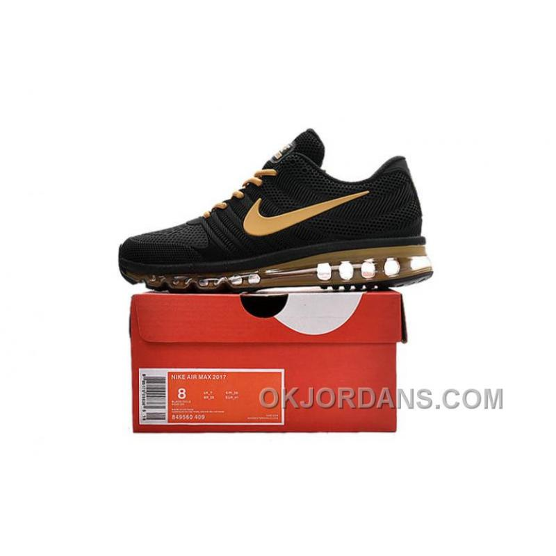 pretty nice d2f44 22f3e Authentic Nike Air Max 2017 KPU Black Gold Top Deals NP8Tw, Price ...