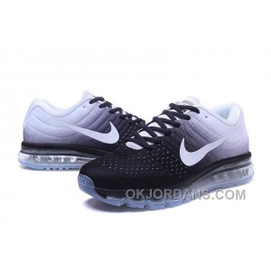 Authentic Nike Air Max 2017 Black White White Super Deals NscXXb