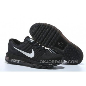 Authentic Nike Air Max 2017 Black Silver Super Deals 82JKhG