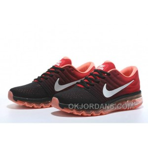 Authentic Nike Air Max 2017 Black Red White Copuon Code K5tb5a