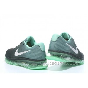 Authentic Nike Air Max 2017 Black Mint Green For Sale HxKK4W