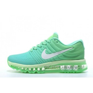 Authentic Nike Air Max 2017 Apple Green Silver For Sale XKSmy
