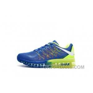 Authentic Nike Air Max 2017 3D Royal Blue Volt Free Shipping 4isK5d