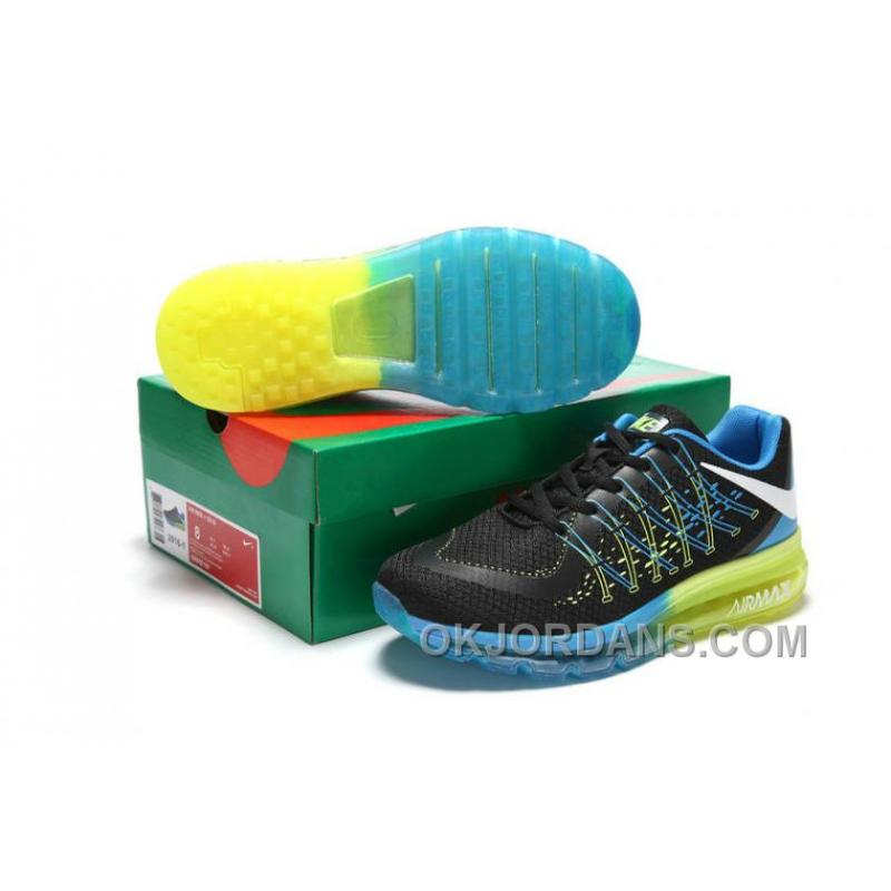 outlet store 402dc 248f8 Authentic Nike Air Max 2017 3D Black Blue Green For Sale FPzsZ