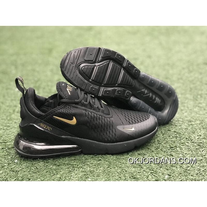 air max 270 black and gold
