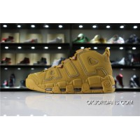 Nike Air More Uptempo Pippen Also Shoes Retro Big Air LOGO Pippen Women Shoes And Men Shoes Pippen Wheat SKU AA4060-200 Top Deals
