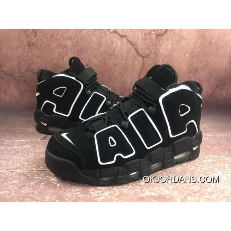 51a3bcbed082 USD  88.37  309.29. Nike Air More Uptempo Pippen Big Air Black White 11  414962-002 ...