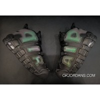 Nike Air More Uptempo Reflective Black/Black-Wolf Grey New Release
