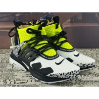 Acronym X Nike Air Presto Mid Collaboration Function High Zipper AH7832-100 Multi Color Yellow New Year Deals