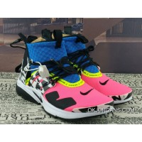 Acronym X Nike Air Presto Mid Collaboration Function High Zipper AH7832-600 Multi Color Red Online