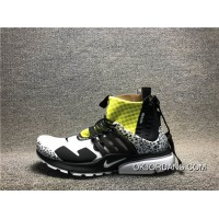 Acronym X Nike Air Presto AH7832 100 Collaboration Function Of Zipper Running Shoes Men Shoes Discount