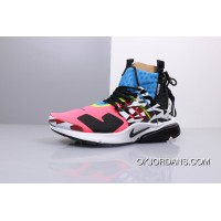 Women Shoes And Men Shoes German Functional Granddaddy Brand 2018 Collaboration The First 2.0 Acronym X Nikelab Air Presto Mid Top All-Match Function Of Zipper Jogging Shoes AH7832-600 Outlet