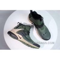NIKE AIR PRESTO MID UTILITY Men Military Green Top Deals YrJN3