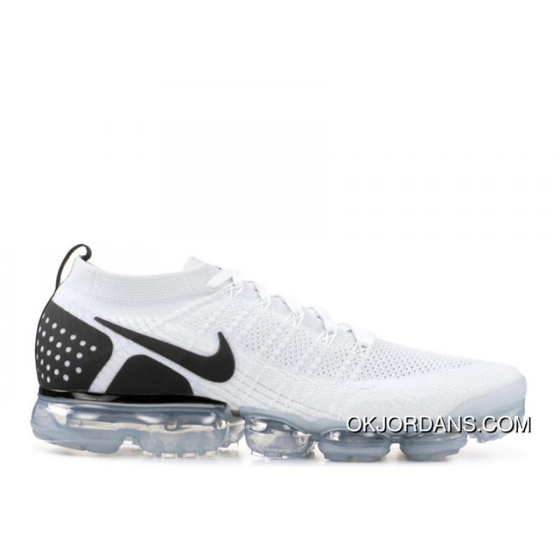 lower price with 5f656 af27c NIKE AIR VAPORMAX FLYKNIT 2 REVERSE ORCA SKU 942842 103 White Black Split  Super Deals