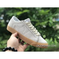 NIKE SB BLAZER ZOOM LOW 864347-100 BROWN For Sale