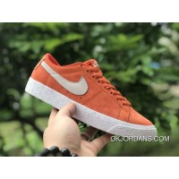 NIKE SB BLAZER ZOOM LOW 864347-800 ORANGE RED For Sale