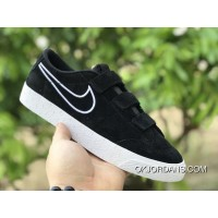 Nike SB Blazer Zoom Low AH3434-001 BLACK WHITE Outlet