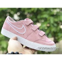 Nike SB Blazer Zoom Low AH3434-604 PINK WHITE New Year Deals