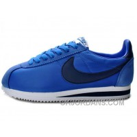 Nike Classic Cortez Nylon Game Royal Navy White Copuon Code 6RPxBeG
