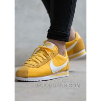Nike Cortez Womens Yellow Black Friday 2016[XMS1889] Super Deals 6TdhRYh