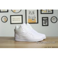 NIKE COURT BOROUGH MID SL ALL WHITE New Year Deals