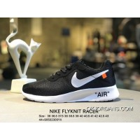 Nike FLYKNIT RACER Summer London 3 Collaboration Publishing Mesh Breathable Light Casual Shoes 812654-011 Size Discount