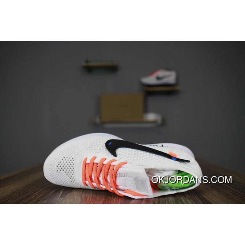 e096ef37153c Off White X Nike Flyknit Racer AA526628-100 Black Letters New Year ...
