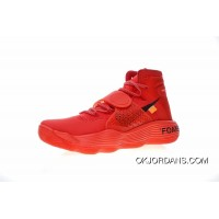 King Of Shoes P.J Tucker And Local Tyrants To Show New Shoes Exclusive Customized Colorways Virgil Abloh X Nike REACT Hyperdunk 2017 High Also Shoes OW Big Red Black Orange AJ4578-102 Discount