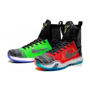 "Nike Kobe 10 Elite High SE ""What The"" Multi-color/Reflective Silver For Sale Online Top Deals EYBzrF"