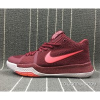 Nike Kyrie 3 Team Red/Hot Punch-White New Release
