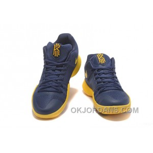 Nike Kyrie 3 Mens BasketBall Shoes Cavs Yellow Cheap To Buy JrfSbKM