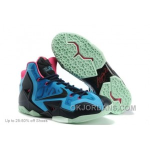 Nike Basketball Shoes Men Lebron 11 P.S. Elite Everglades Discount NipGr