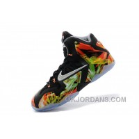 "Nike LeBron 11 ""Everglades"" Black/Metallic Silver-Wolf Grey-Atomic Mint For Sale Lastest RRkDPrt"