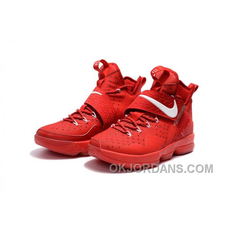 a8349d43b875 ... Nike LeBron 14 SBR Students  Red White Discount ...
