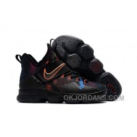 Nike LeBron 14 SBR Black Orange Red Online