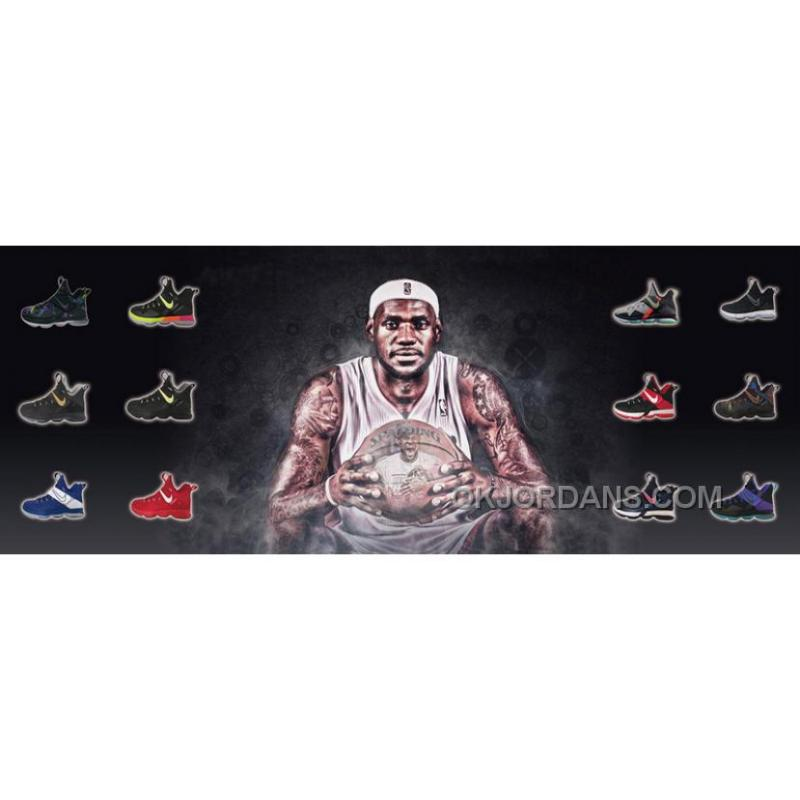 cheap for discount 425ad 3869a Nike LeBron 14 SBR Christmas Day 2017 For Sale