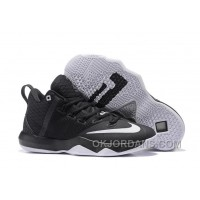 Nike Lebron Ambassador 9 Zoom Air Men Black White Oreo Super Deals