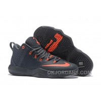 Nike Lebron Ambassador 9 Zoom Air Men Black Red Discount