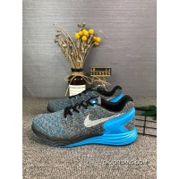 110Nike Men Shoes LunarGLIDE 6 FLYKNIT Sport Shoes FLYKNIT Light Breathable Running Shoes Size Code 0109229 Copuon