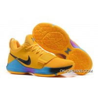 Nike Pg 1 Flip The Switch Gold Blue Purple Pg Basketball Shoes Top Deals