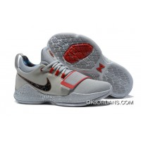 Nike Pg 1 Gladiator Pe Grey Red Pg Basketball Shoes Best