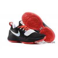 Nike PG 1 Black White Red Men's Basketball Shoes New Release
