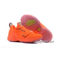 Nike PG 1 Orange Men's Baketball Shoes Discount