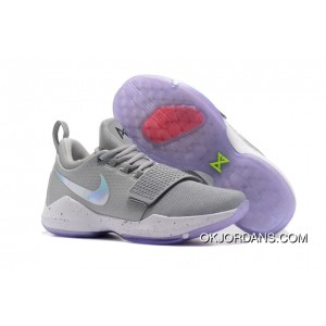 Nike PG 1 '2K' Cool Grey White First Signature Shoes New Release