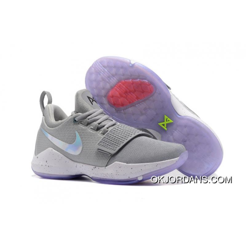 94cf9930f8b Nike PG 1  2K  Cool Grey White First Signature Shoes New Release ...