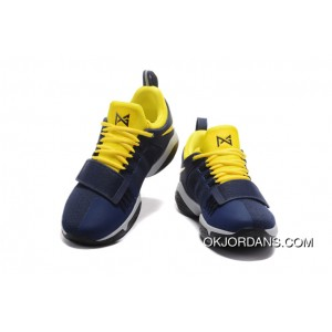 """""""Pacers"""" Nike PG 1 PE Obsidian/Yellow-Hyper Violet Lastest"""
