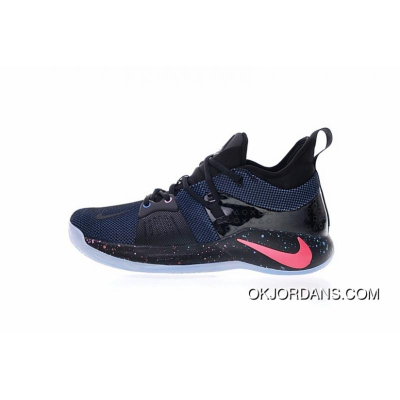 online store 7f88f 7e049 With Glowing LOGO Effect SONY Game Collaboration SONY Playstation X Nike PG  2 2.0 Cure PG2 Paul Signature Blue Ball Shoes Series Light Color Star LAN  ...