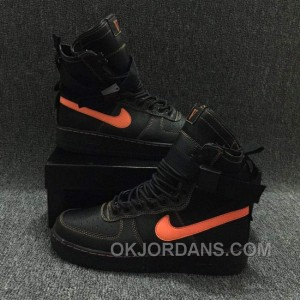 Nike Special Forces Air Force 1 Boots Faded Olive/Faded Black Orange Free Shipping I7YWf