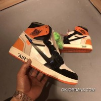 Men Off White X Air Jordan 1 Aaaaa SKU:46146-251 Discount